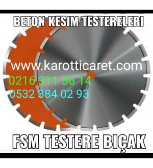 Beton Kesme Testeresi 350 mm Seyrek