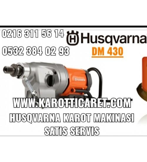 Karot Makinası Husqvarna DM 430